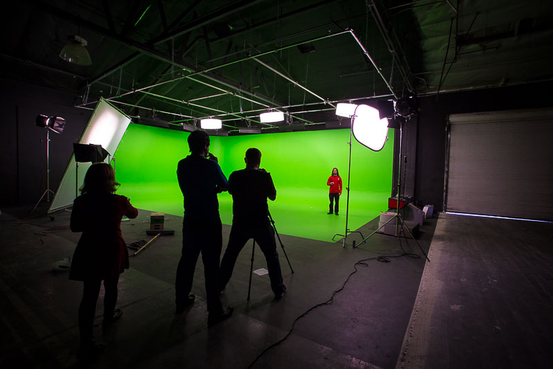 green screen studio in los angeles