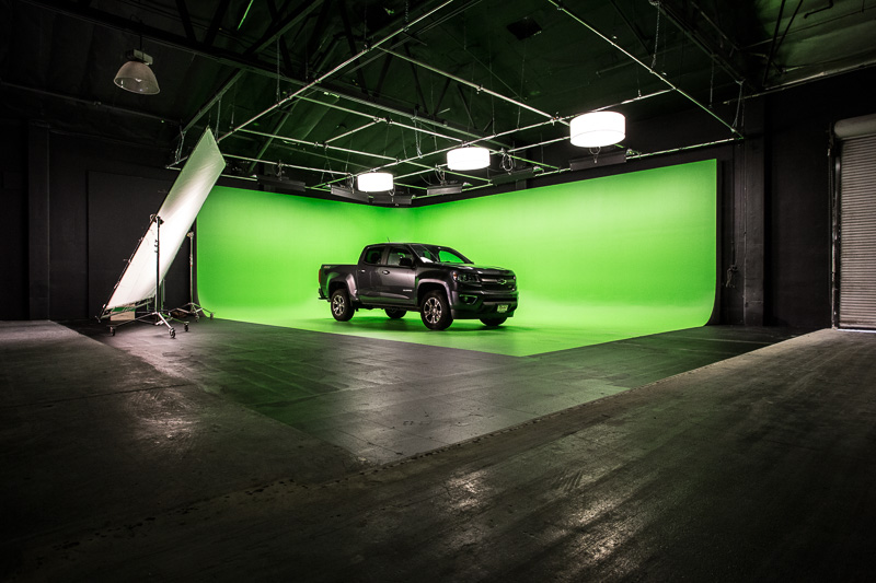 green screen la film location