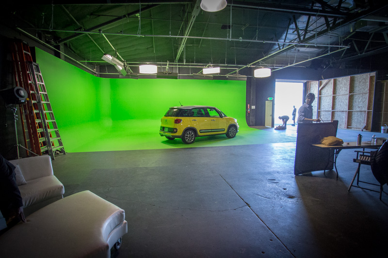 pre-lit green screen los angeles