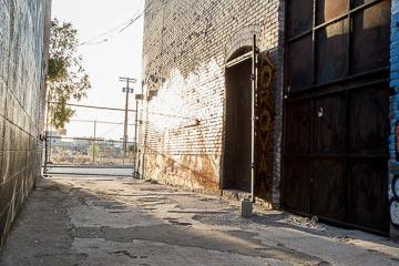 alley for filming in los angeles