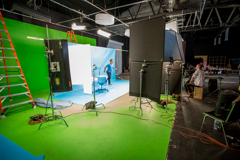 pre lit green screen studio los angeles